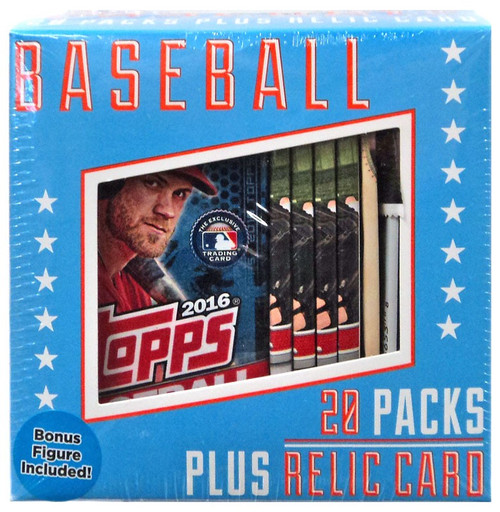 Fairfield Baseball Trading Card Box [20 Packs + Relic Card!]