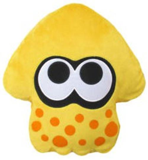 Splatoon Sun Yellow Squid Cushion Plush