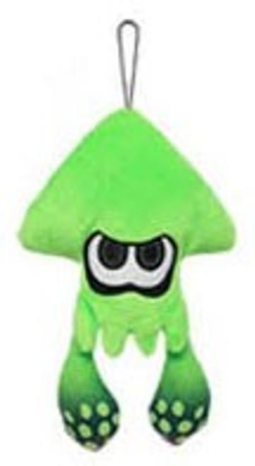 Splatoon Inkling Squid Green Green 9-Inch Plush