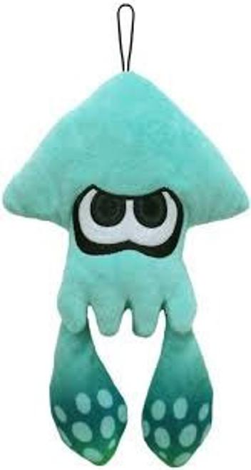 Splatoon Inkling Squid Turquoise Green 9-Inch Plush