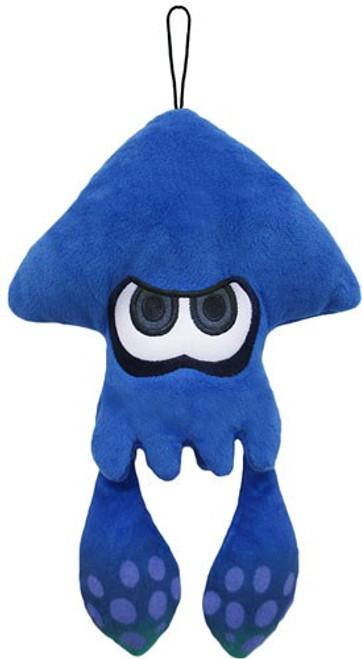 Splatoon Inkling Squid Blue Green 9-Inch Plush