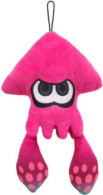 Splatoon Inkling Squid Pink Green 9-Inch Plush
