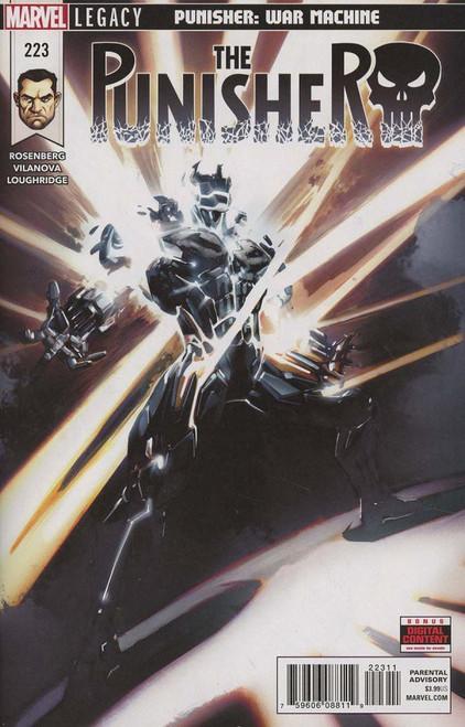 Marvel Comics The Punisher #223 Comic Book