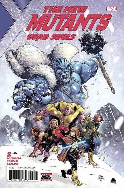 Marvel Comics The New Mutants #2 Dead Souls Comic Book