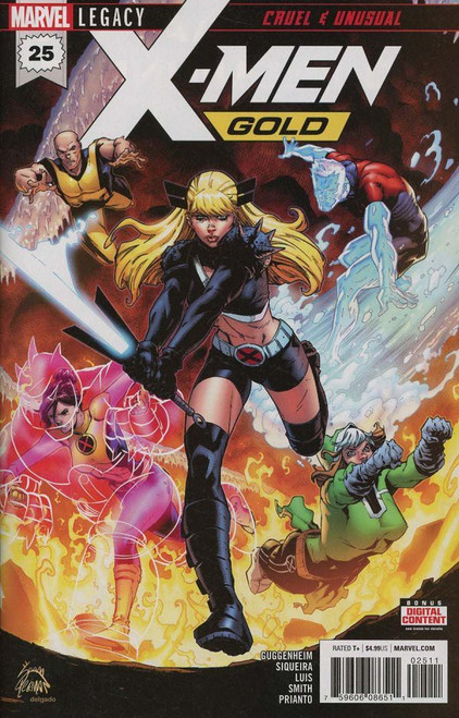 Marvel Comics X-Men Gold #25 Comic Book