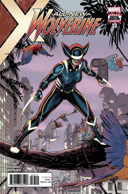 Marvel Comics All-New Wolverine #33 Comic Book