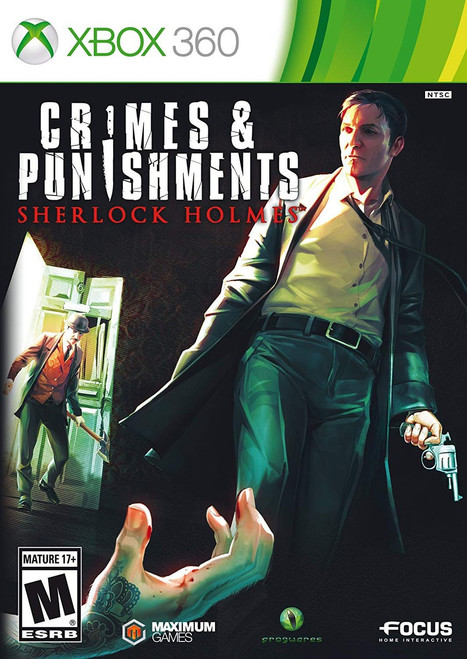 XBox 360 Crimes & Punishments Sherlock Holmes Video Game