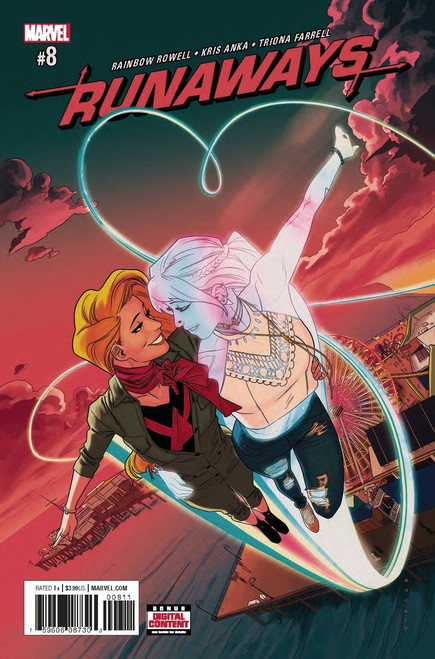 Runaways #8 Comic Book
