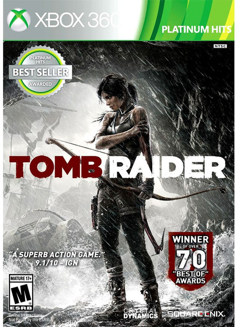 XBox 360 Tomb Raider Video Game