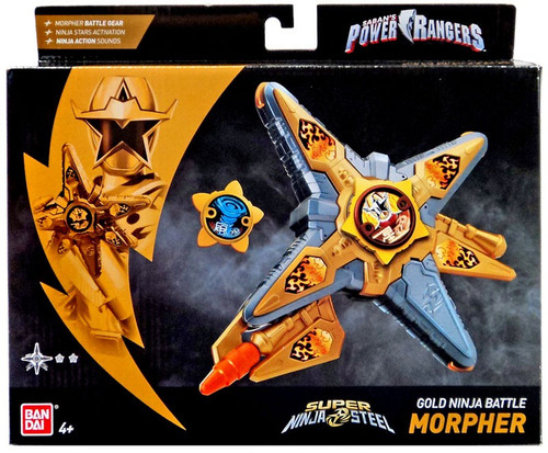 Power Rangers Super Ninja Steel Gold Ninja Battle Morpher Roleplay Toy