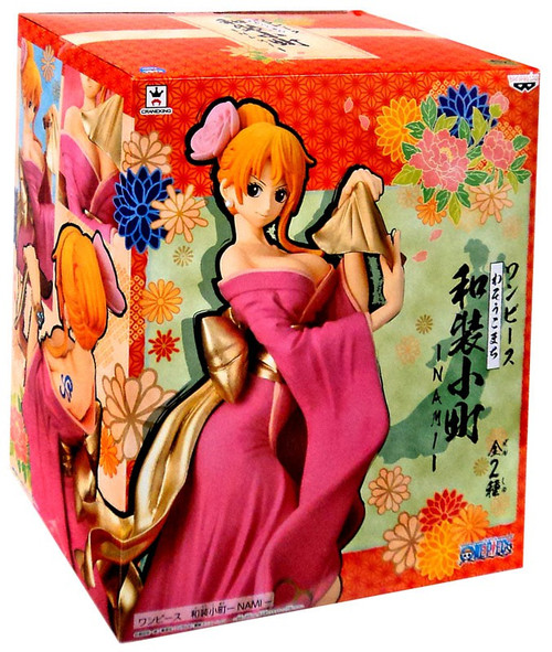 One Piece Kimono Komachi Nami 7.8-Inch Collectible PVC Figure [Pink]