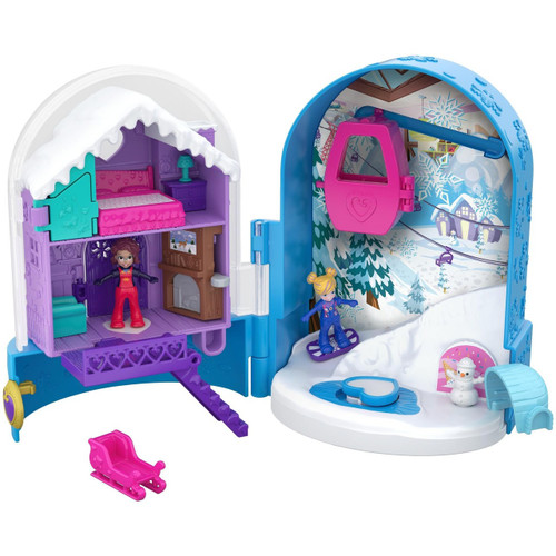 Polly Pocket Big Pocket Snowmazing Surprise Playset [World 2]