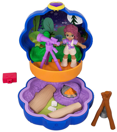 Polly Pocket Tiny World Camping with Shani Playset [World 5]