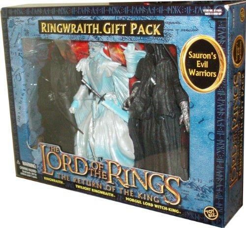 The Lord of the Rings The Return of the King Sauron's Evil Warriors Action Figure 3-Pack [Ringwraith, Twilight Ringwraith & Morgul Lord Witch-King]