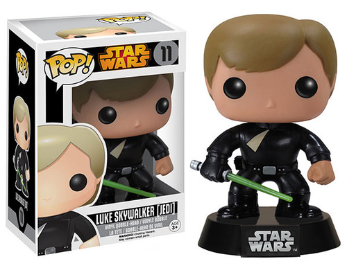 Funko Return of the Jedi POP! Star Wars Luke Skywalker (Jedi) Vinyl Bobble Head #11 [Vaulted Edition]