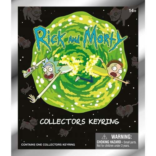 3D Figural Keychain Series 1 Rick & Morty Mystery Pack