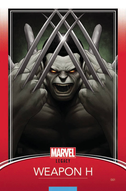 Marvel Comics Weapon H #1 Comic Book [Christopher Trading Card Variant]