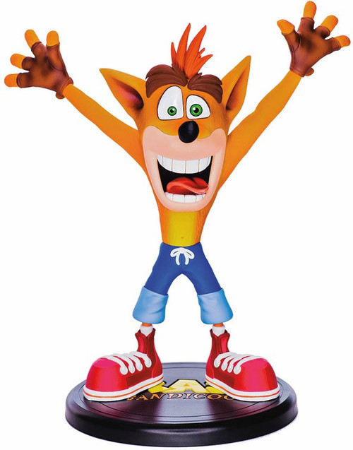 Crash Bandicoot 9-Inch PVC Figure Statue