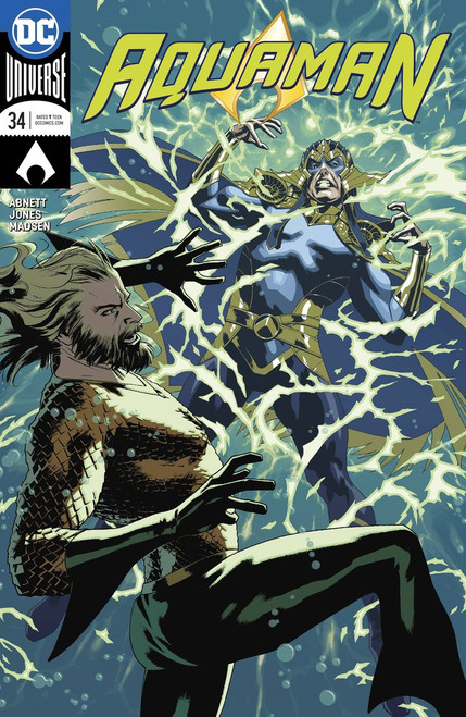 DC Aquman #34 Comic Book [Variant Cover]
