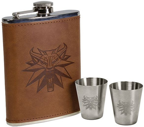 The Witcher Deluxe Flask Gift Set