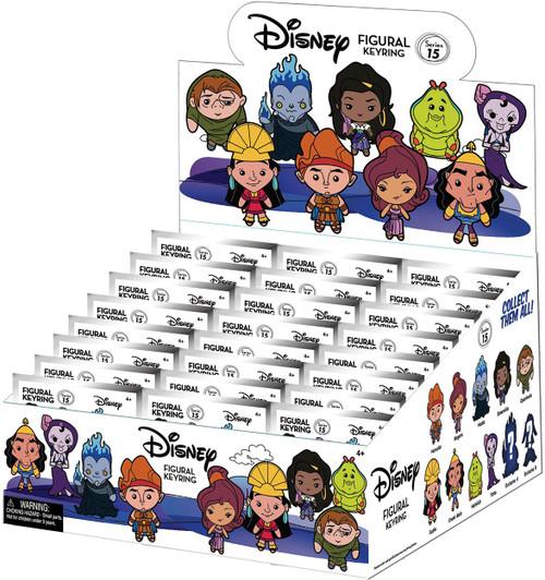 3D Figural Keyring Disney Series 15 Mystery Box [24 Packs]