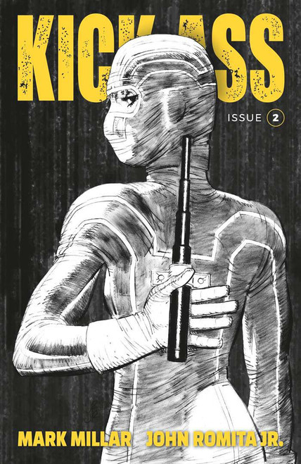 Image Comics Kick-Ass #2 Comic Book [Cover B Romita Jr Black & White]