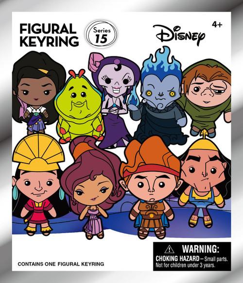 3D Figural Keyring Disney Series 15 Mystery Pack [1 RANDOM Figure]