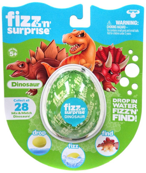 Fizz 'n' Surprise Dinosaur Mystery Pack