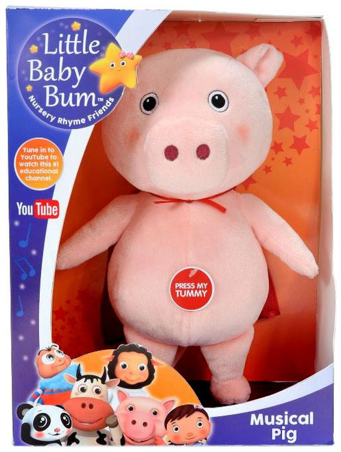 Little Baby Bum Musical Pig 10-Inch Plush with Sound