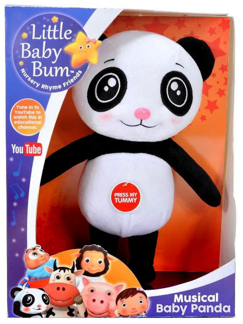 Little Baby Bum Musical Baby Panda 10-Inch Plush with Sound