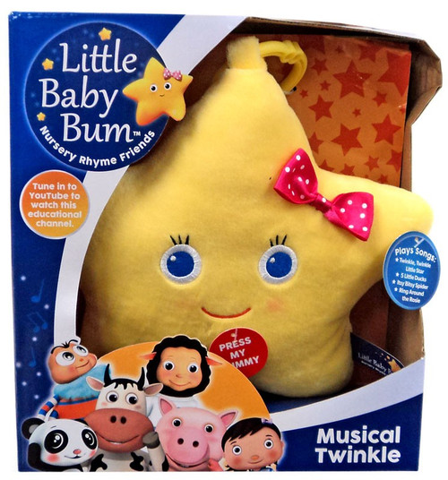 Little Baby Bum Musical Twinkle 10-Inch Plush with Sound
