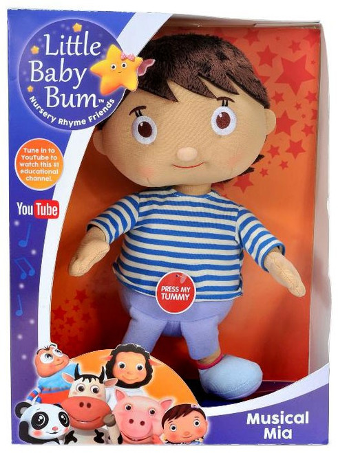 Little Baby Bum Musical Mia 10-Inch Plush with Sound