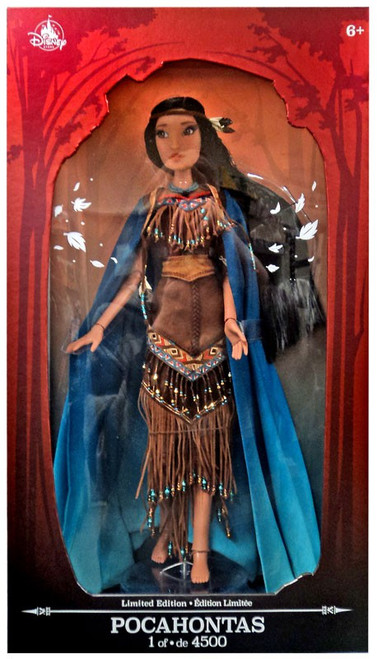 Disney Princess Limited Edition Pocahontas Exclusive 16-Inch Doll