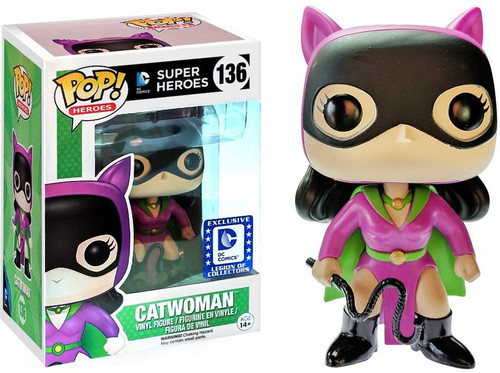 Funko DC POP! Heroes Catwoman Exclusive Vinyl Figure #136 [Batman Villains Box]