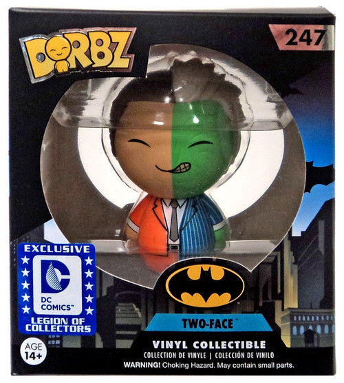 Funko DC Dorbz Two-Face Exclusive Vinyl Figure #247 [Batman Villains Box]