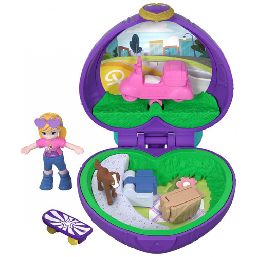 Polly Pocket Tiny World Picnic with Polly & Peaches Playset [World 1]
