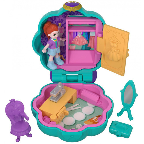 Polly Pocket Tiny World Fiercely Fab Studio with Lila Playset [World 2]