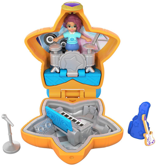 Polly Pocket Tiny World Teeny Boppin' Concert with Shani Playset [World 3]