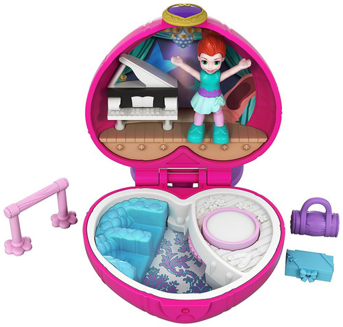 Polly Pocket Tiny World Ballet with Lila Playset [World 6]