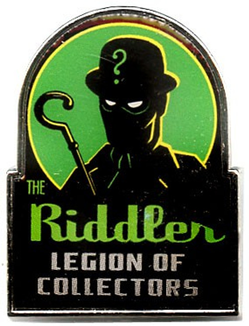 Funko DC Batman The Riddler Exclusive Pin [Batman Villains Box]