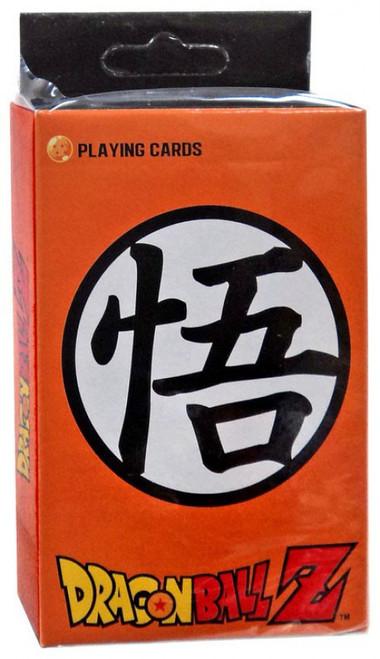 Dragon Ball Z Goku Symbol Playing Card Deck