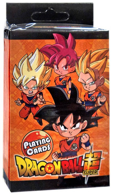 Dragon Ball Z Super Deformed Group Playing Card Deck