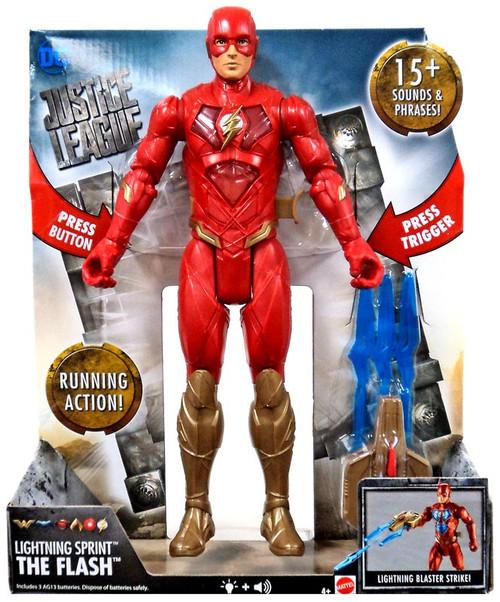 DC Justice League Movie Lightning Sprint The Flash Action Figure [Lights & Sounds]