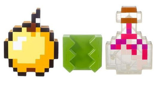 Minecraft Pixel Clips Inventory 3-Pack