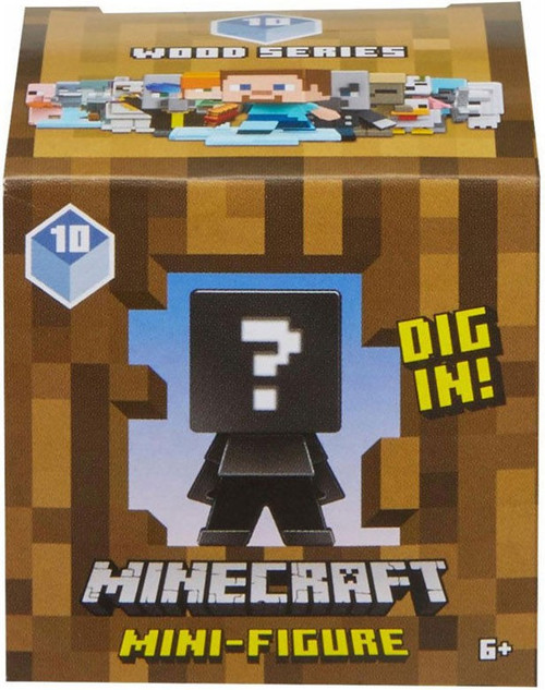 Minecraft Wood Series 10 Mystery Pack