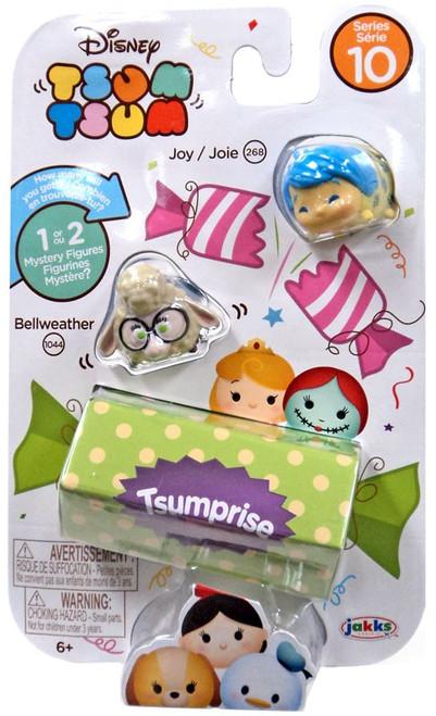 Disney Tsum Tsum Series 10 Joy & Bellweather 1-Inch Minifigure 3-Pack #268 & 1044