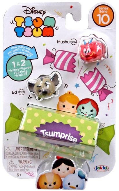 Disney Tsum Tsum Series 10 Mushu & Ed 1-Inch Minifigure 3-Pack #1032 & 1026