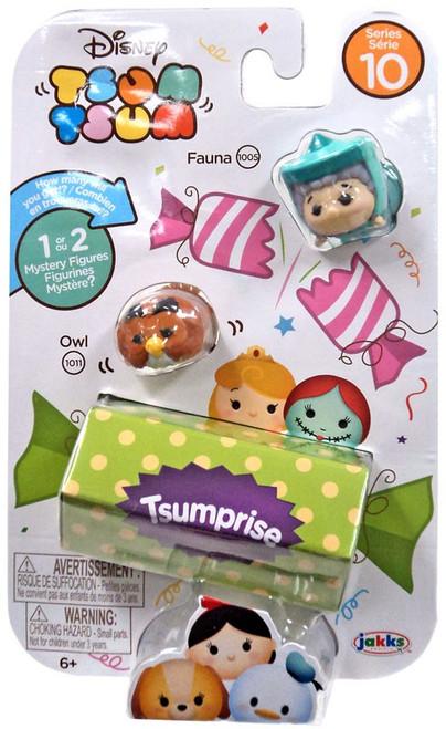 Disney Tsum Tsum Series 10 Fauna & Owl 1-Inch Minifigure 3-Pack #1005 & 1011