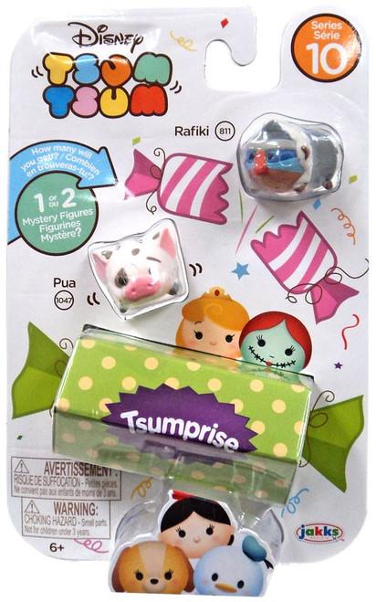 Disney Tsum Tsum Series 10 Rafiki & Pua 1-Inch Minifigure 3-Pack