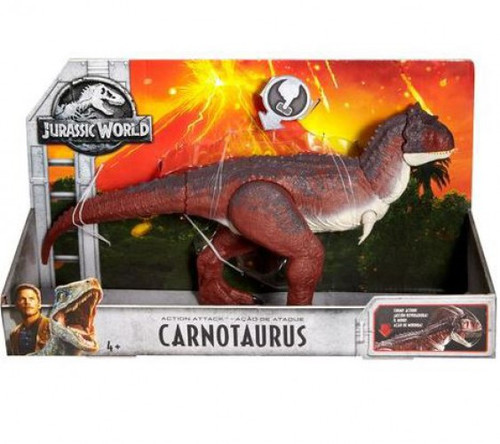 Jurassic World Fallen Kingdom Action Attack Carnotaurus Action Figure